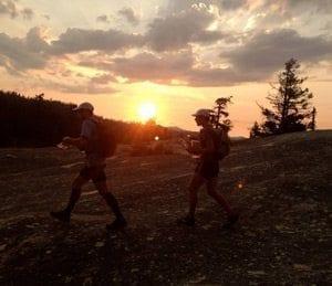 sunset-trekking