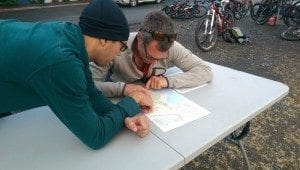 plotting the course