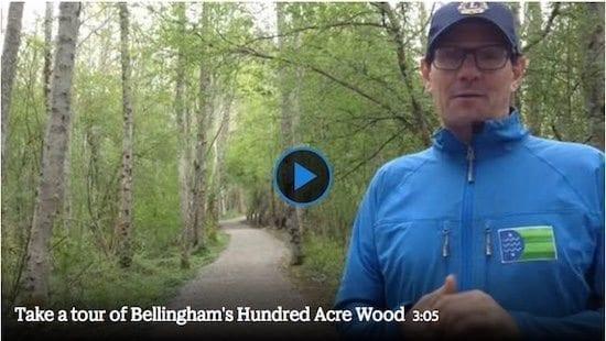 Video: Hikers tour Hundred Acre Wood with Parkscriptions program